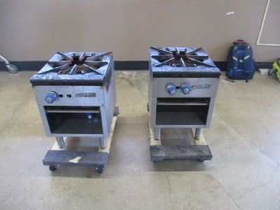 Lot Of Natural Gas Stock Pot Range Burners RTR#8051519-12
