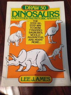 Learn to draw dinosaur book