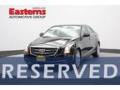 Used 2016 Cadillac ATS Sedan Black Raven, 22.5K miles