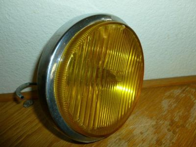 Find VINTAGE MERCEDES CHROME BOSCH YELLOW FOG LIGHT (EXCELLENT CHROME AND GLASS) motorcycle in Riverside, California, US, for US $180.00