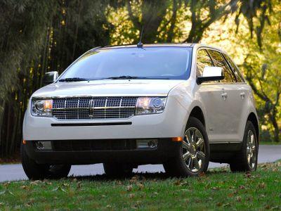 2010 Lincoln MKX Base (White Platinum Metallic Tri-Coat)