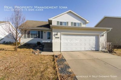 Spacious 3 bedroom, 2.5 Bath House in Ankeny