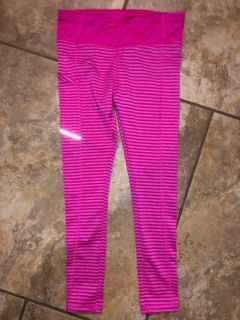 AVIA Bright Pink Sports Gym Active Pants. Like New Condition. Size 4-5