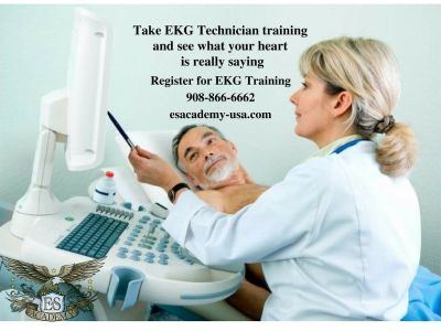 Certified EKG Training available!