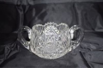 GLASSWARE: Glass and Crystal Candy Dishes