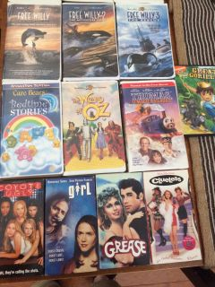 Disney and other VHS tapes