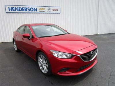 2017 Mazda Mazda6 Touring Auto (soul red metallic)