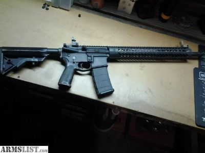 "For Sale: Ar-15 , DSG Upper, Seekins 15"" handguard"