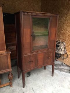Antique China Cabinet (a)