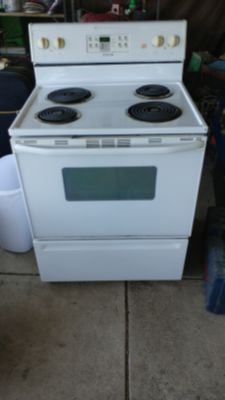 Maytag electric stove. 30 wide x 26 deep x 47 tall