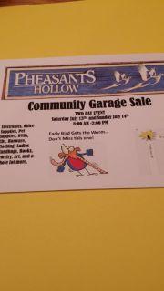 PHHOA Community Garage Sale
