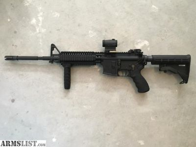 """For Sale/Trade: Excellent Condition FACTORY 16"""" LMT Defender in 5.56 with Upgrades"""