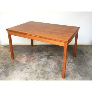 Expandable Teak Dining Table