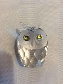 Swarovski Owl - 2 High - Mint Condition with Box and Pamphlet