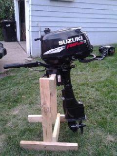 $600 OBO 2007 Suzuki 4hp four-stroke outboard motor
