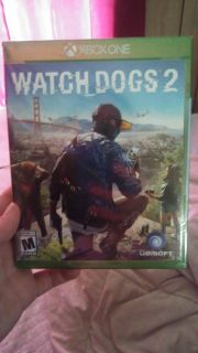 Brand new unopened still in wrapping Watch dogs 2 xbox 1 game