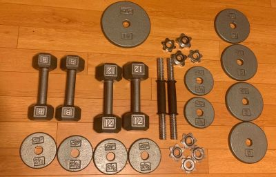 Weight Lifting Set 25 pieces by CAP