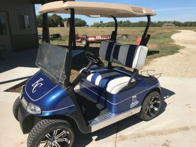 2012 Custom EZGO RXV 48 VOLT GOLF CART