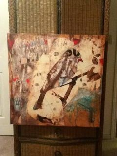 Eclectic Canvas Bird Pictures
