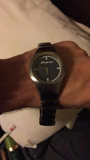 Snap on watch