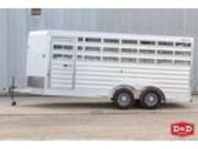 2020 Exiss Express 16 Ft Stock Trailer