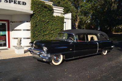 1956 Cadillac Eureka Landau Hearse 3-WAY Sideloader 8680SS