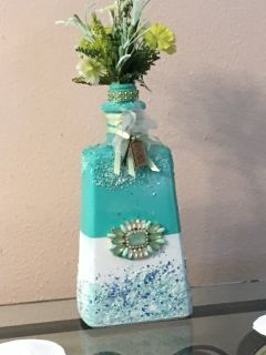 Unique liquar and wine botle crafts & floral design, great wedding/shower ideas, great gifts