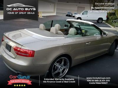 2010 Audi A5 2dr Cabriolet CVT FrontTrak Premium Plus