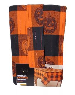 New Celebrate Halloween Together Oblong Tablecloth 60 x 84 *crossposted