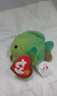 Ty Beanie Baby Coral the Fish