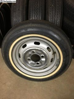 Orig low mileage Continental tires for your spare