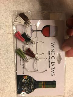 New wine charms