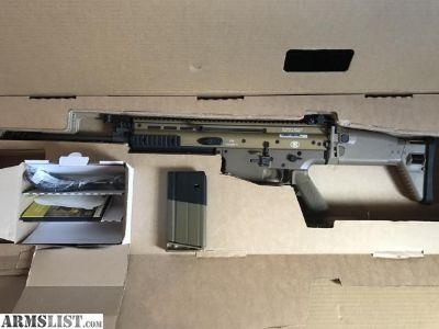 For Sale: NIB: FDE FN SCAR 17S Heavy