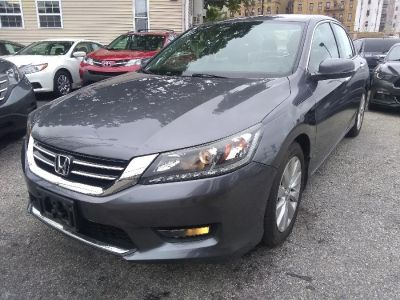 2015 Honda ACCORD SEDAN 4dr V6 Auto EX-L w/Navi (Alabaster Silver Metallic)