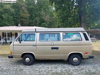 1986 Westfalia 2.1 Manual Full Camper