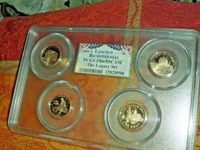 2009 S Lincoln Bicentennial PCGS PR69 DCAM The Legacy Set