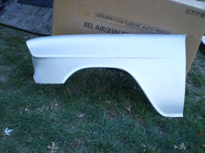 NEW 55 1955 Chevy Chevrolet Bel Air 210 Fender CHEVY 454 327 283 FENDER NOMAD
