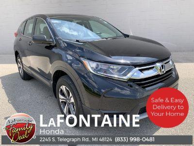 2018 Honda CR-V lx (Crystal Black Pearl)
