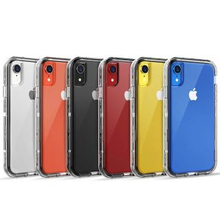 CLEAR SKYLMW iPhone XR Case,Shockproof Anti-Scratch