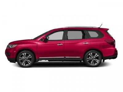 2018 Nissan Pathfinder Platinum (Scarlet Ember)