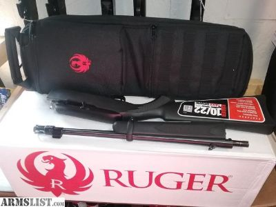 For Sale: Factory New Ruger RUGER 10/22 TAKEDOWN
