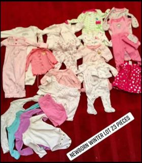 Newborn bundle 23 pieces