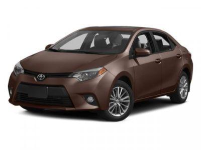 2014 Toyota Corolla L (Black Sand Mica)
