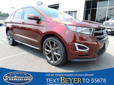 2016 Ford Edge Sport (Bronze Fire Metallic Tinted Clearcoat)