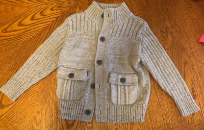 2T Button Up Sweater