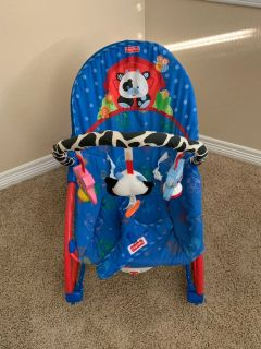 Fisher price rocking baby bouncer