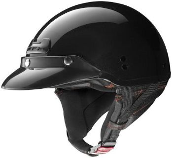 Find Nolan Super Cruise Metallic Black Half Shell Motorcycle Helmet Size Medium motorcycle in South Houston, Texas, US, for US $179.95