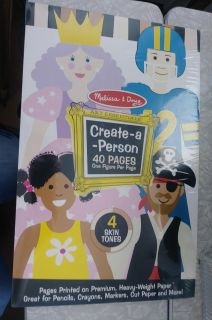 Melissa & Doug Create a Person Paper Crafts