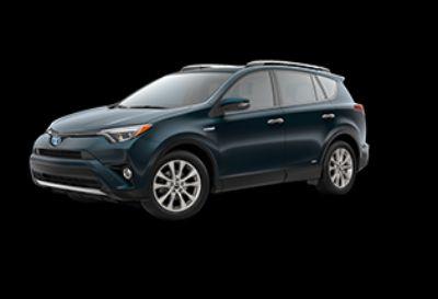 2018 Toyota RAV4 Limited Hybrid AWD-i (Galactic Aqua Mica)