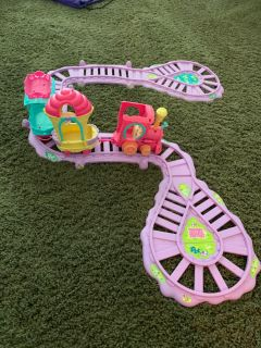 My Little Pony Train set